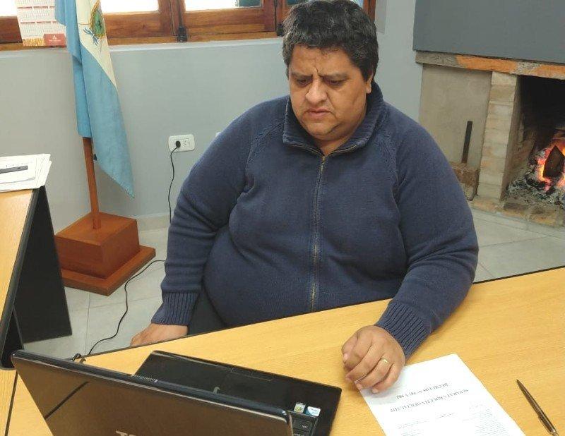 Por otras excepciones: Federico Bogarín en videoconferencia con el gobernador