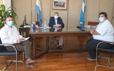 El gobernador Sergio Ziliotto recibió a Federico Bogarín
