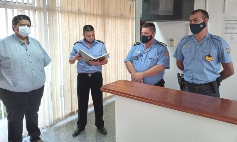 En funciones el nuevo encargado del destacamento policial